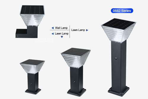 ALLTOP outdoor 5 watt intergrated all in one led solar garden light-5