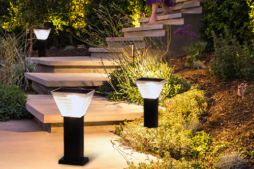 ALLTOP outdoor 5 watt intergrated all in one led solar garden light-7