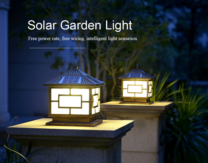 ALLTOP outdoor 5 watt intergrated all in one led solar garden light-10