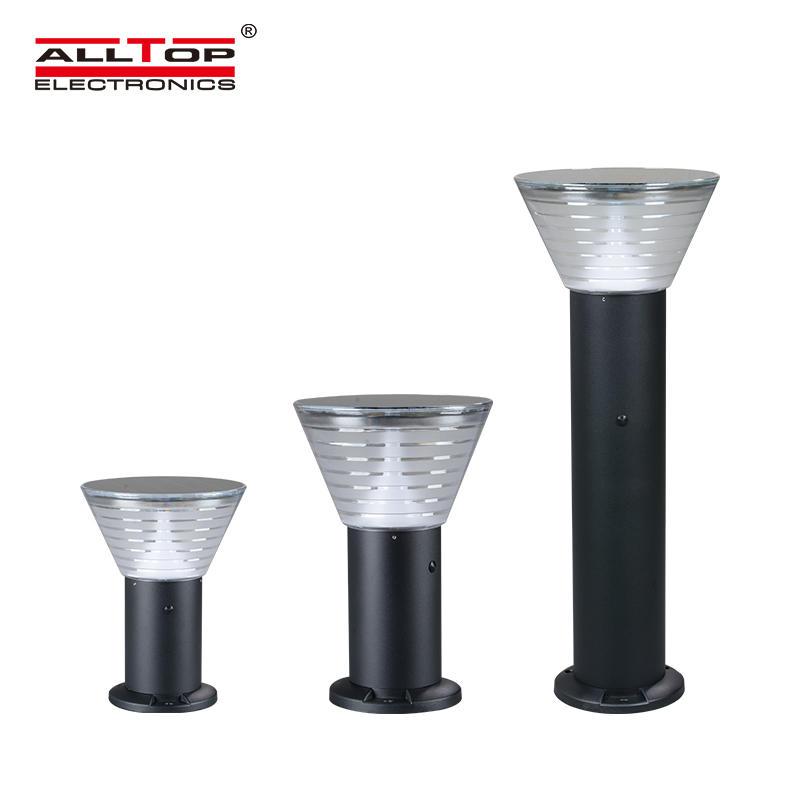 ALLTOP 5watt waterproof ip65 outdoor all in one solar led garden lamp light price