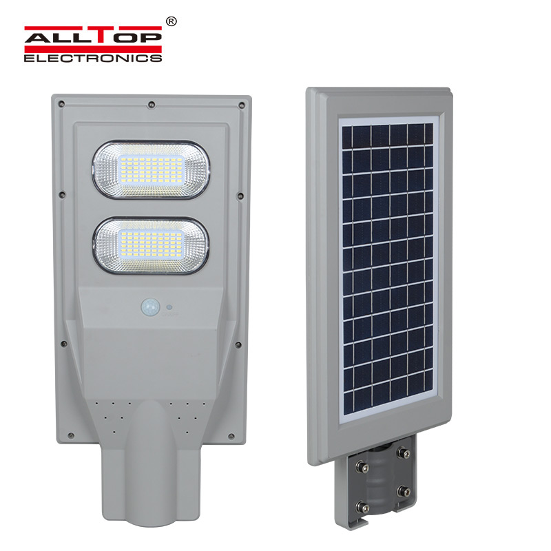 ALLTOP -High quality IP67 waterproof all in one solar led street light