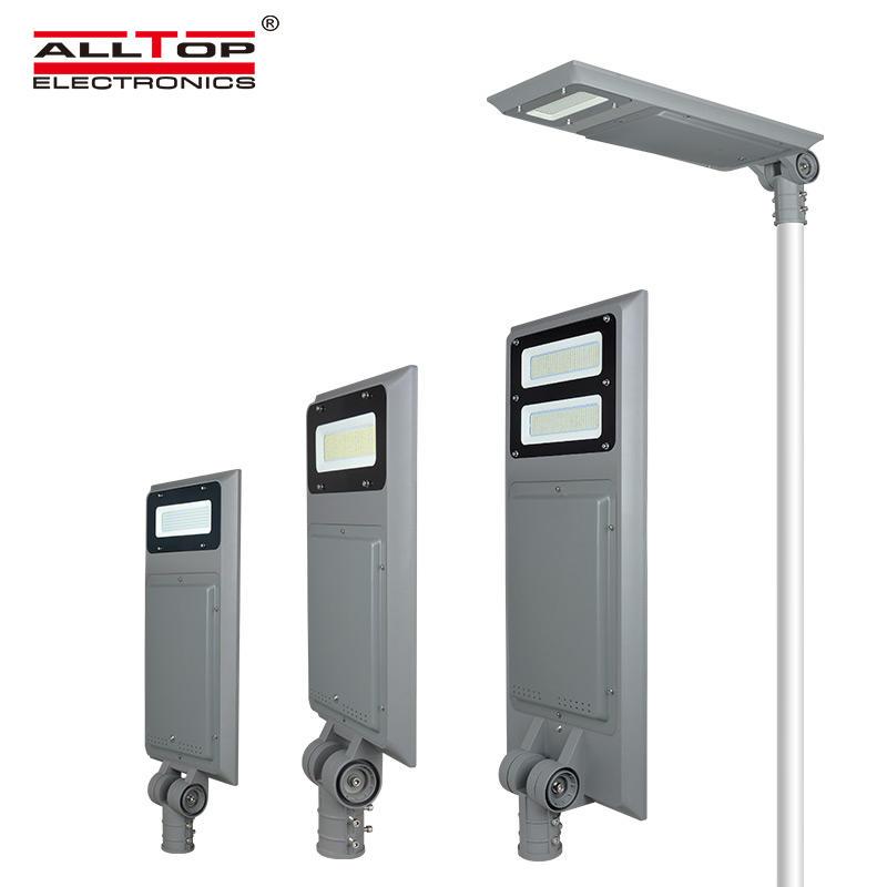 ALLTOP Energy saving high lumen integrated outdoor adjustable angle 30W 60W 90W solar led street light