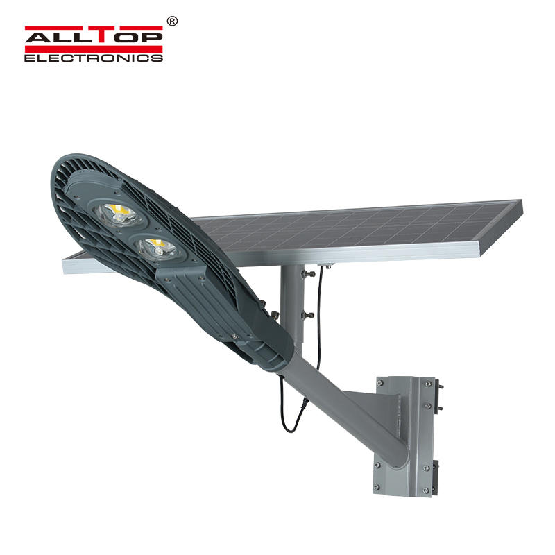 Hot selling outdoor waterproof IP65 cob 40watt solar led street lighting price list