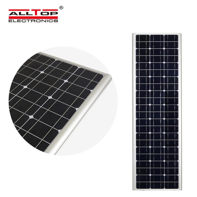 High lumen ip66 motion sensor outdoor solar led street light 60w price
