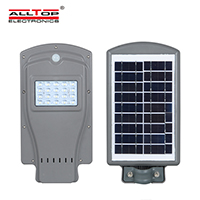 ALLTOP solar led street light with pole series for highway-1