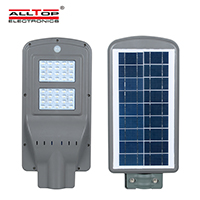 ALLTOP solar led street light with pole series for highway-2