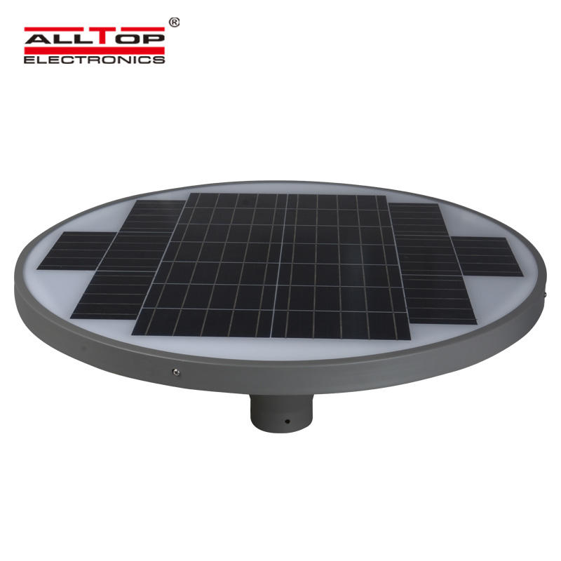 High quality outdoor all in one 30 w solar led garden light