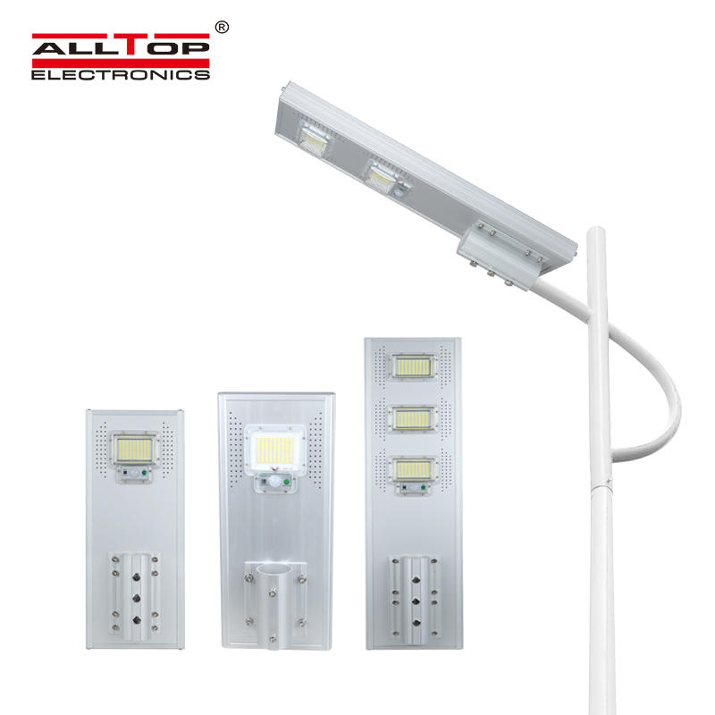 Waterproof outdoor ip65 motion sensor integrated 60w 120w 180w all in one led solar street light price