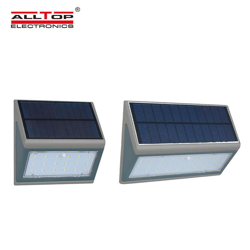 Outdoor Waterproof LED Solar Wall lamp