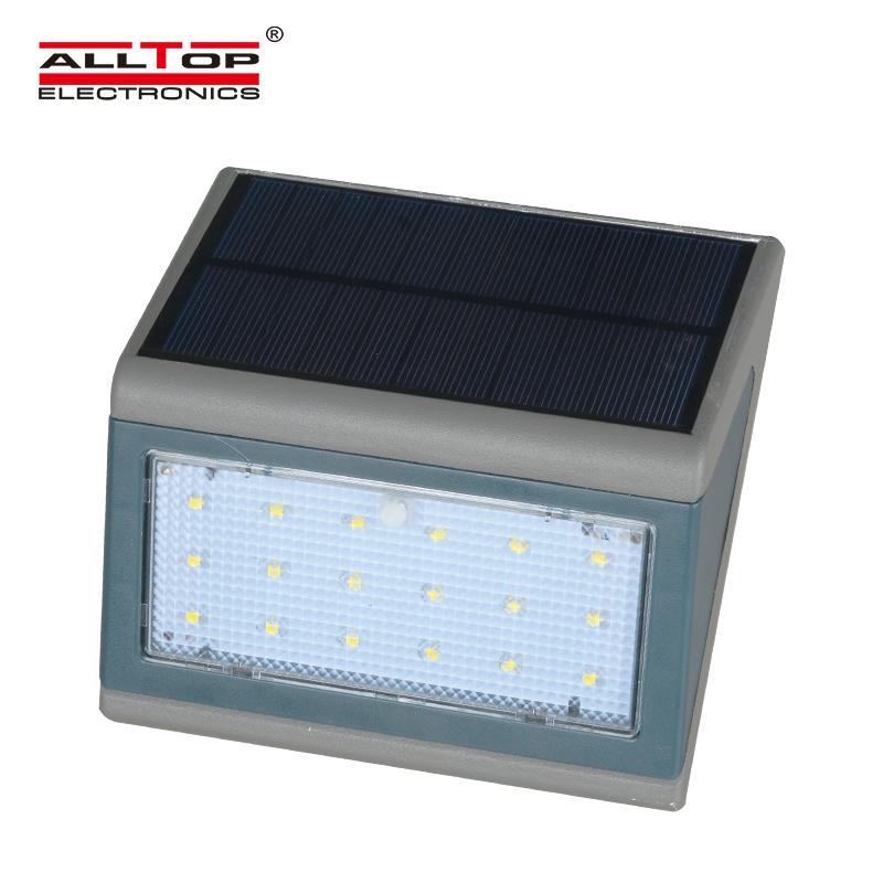 ALLTOP -Outdoor Waterproof LED Solar Wall lamp