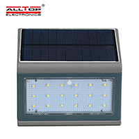 ALLTOP -Solar Wall Lamp Outdoor Waterproof Led Solar Wall Lights