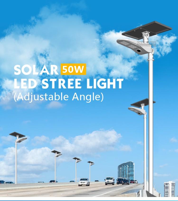 ALLTOP -Solar Light For Road | 50w Pir Motion Sensor Outdoor Waterproof Ip65 Led-1