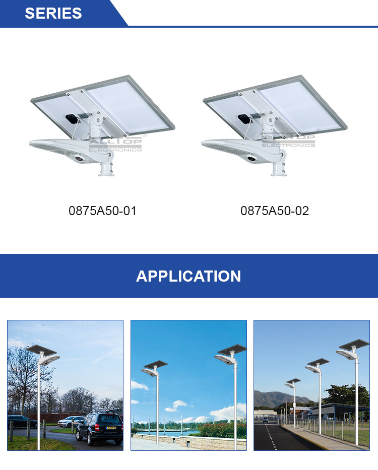 power solar led street lamp free sample for playground ALLTOP-7