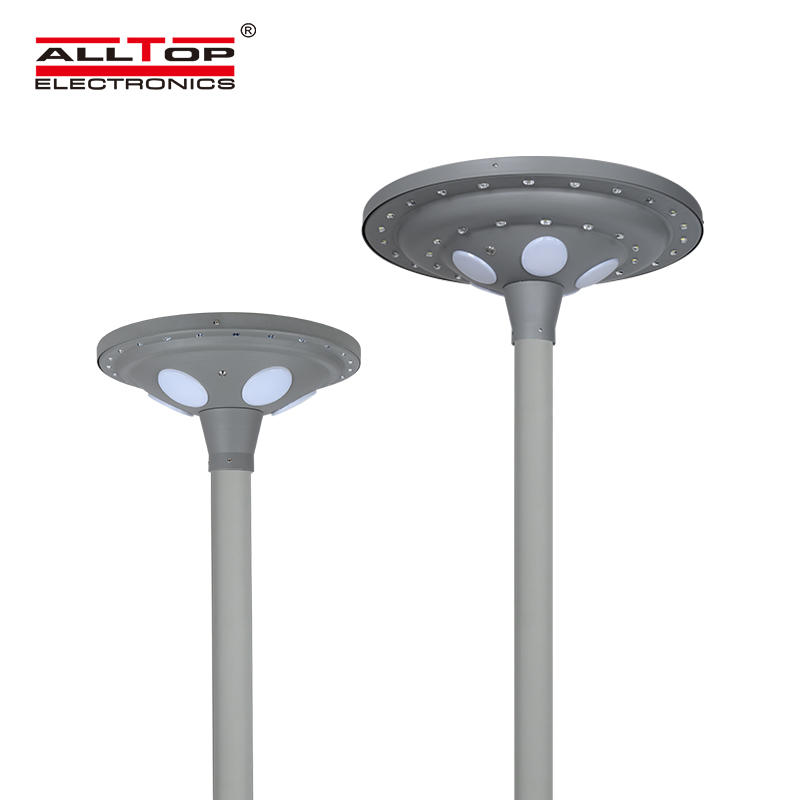 ALLTOP Hot sales outdoor waterproof energy saving 30W 60w solar led garden lamp