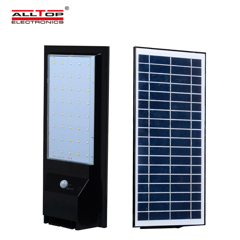 ALLTOP -9w 14w outdoor garden IP65 waterproof solar led wall light housing