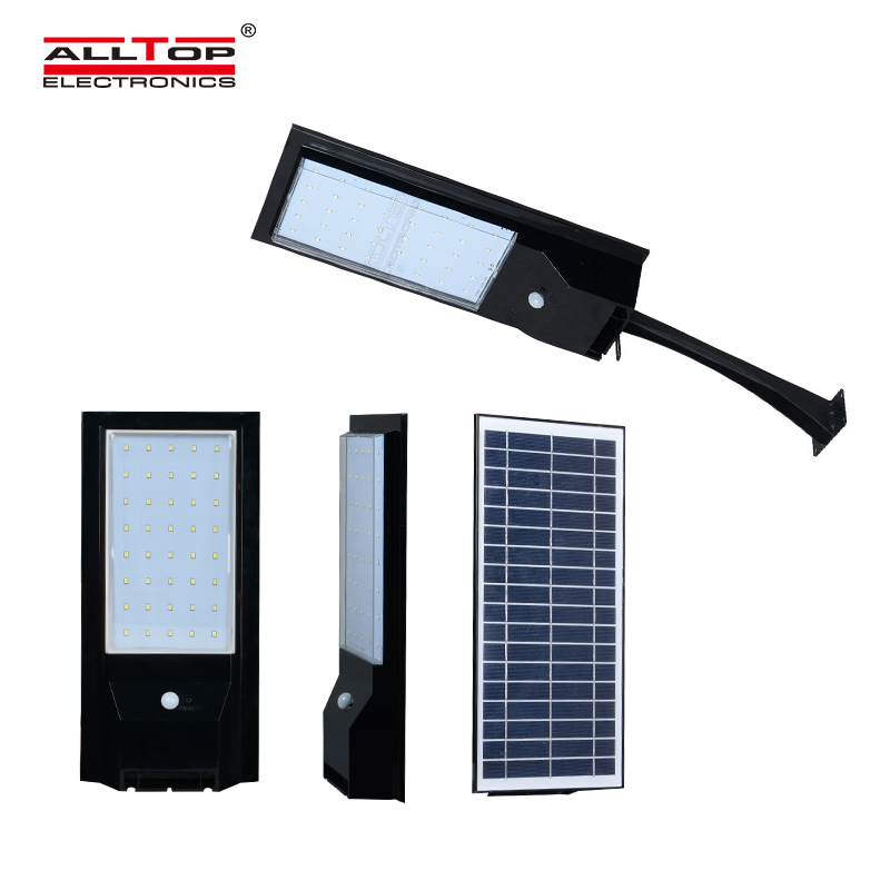 ALLTOP -9w 14w outdoor garden IP65 waterproof solar led wall light housing-1