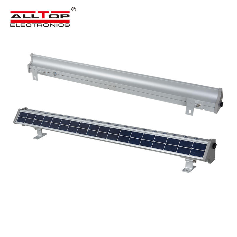 High quality outdoor IP65  aluminum Solar led wall washer light 10 watt 20 watt