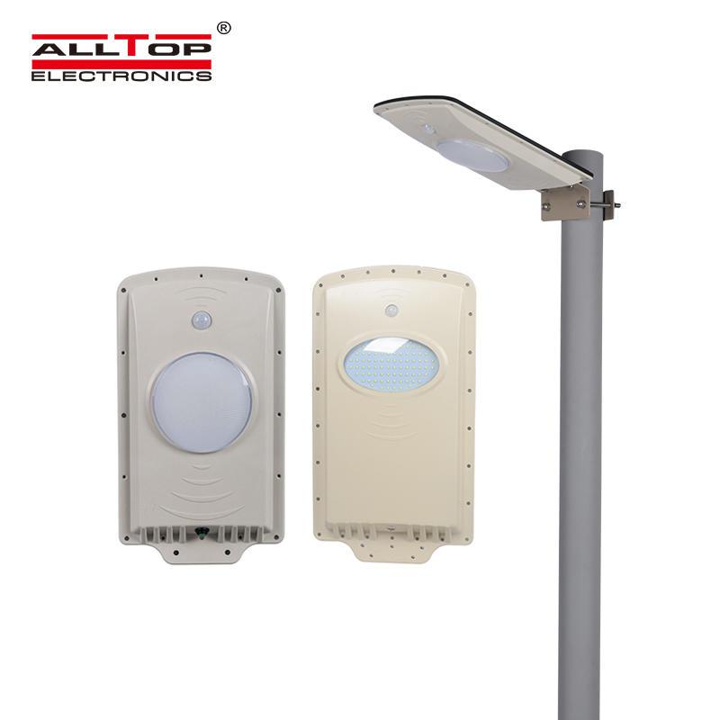 motion sensor all in one solar led street light