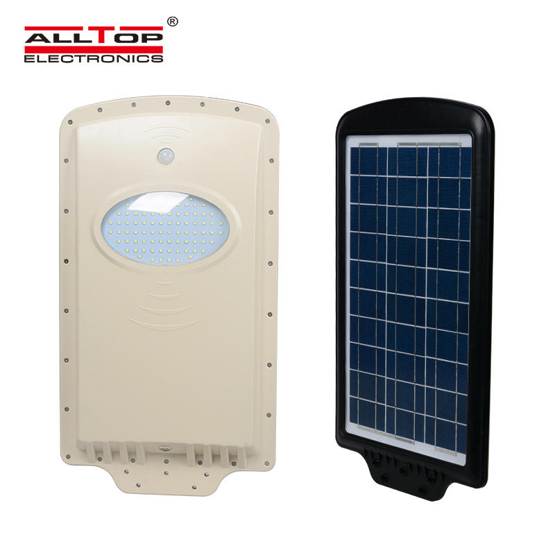 motion sensor all in one solar led street light