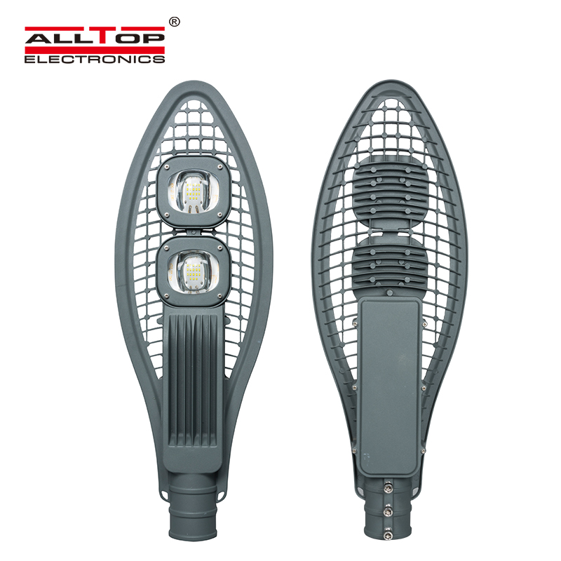 ALLTOP -Waterproof outdoor ip65 110v high power aluminum led street light lamp