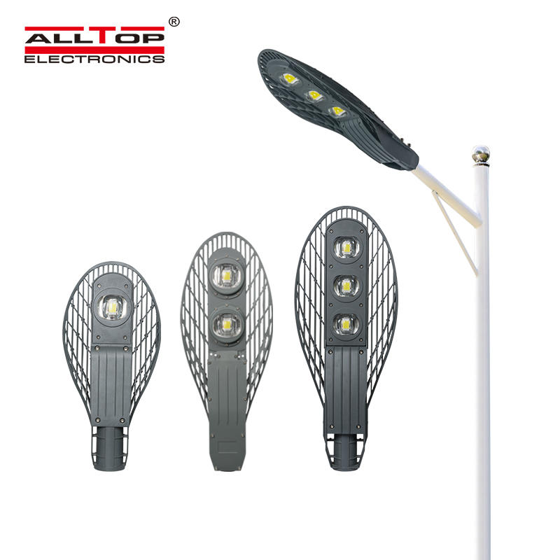 High quality commercial high lumen Aluminum 50w 100w 150w led street light price