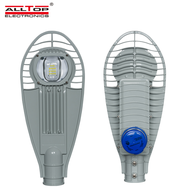 ALLTOP -50W 100W 150W outdoor IP65 high brightness cob led street light with photo sensor-1