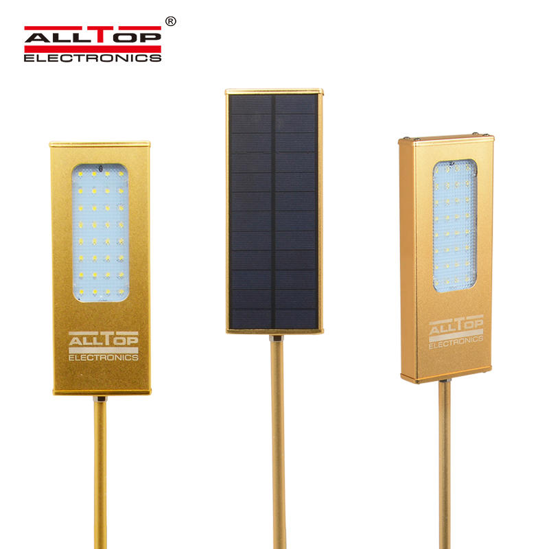 Modern garden outdoor IP65 waterproof solar led wall light 5w
