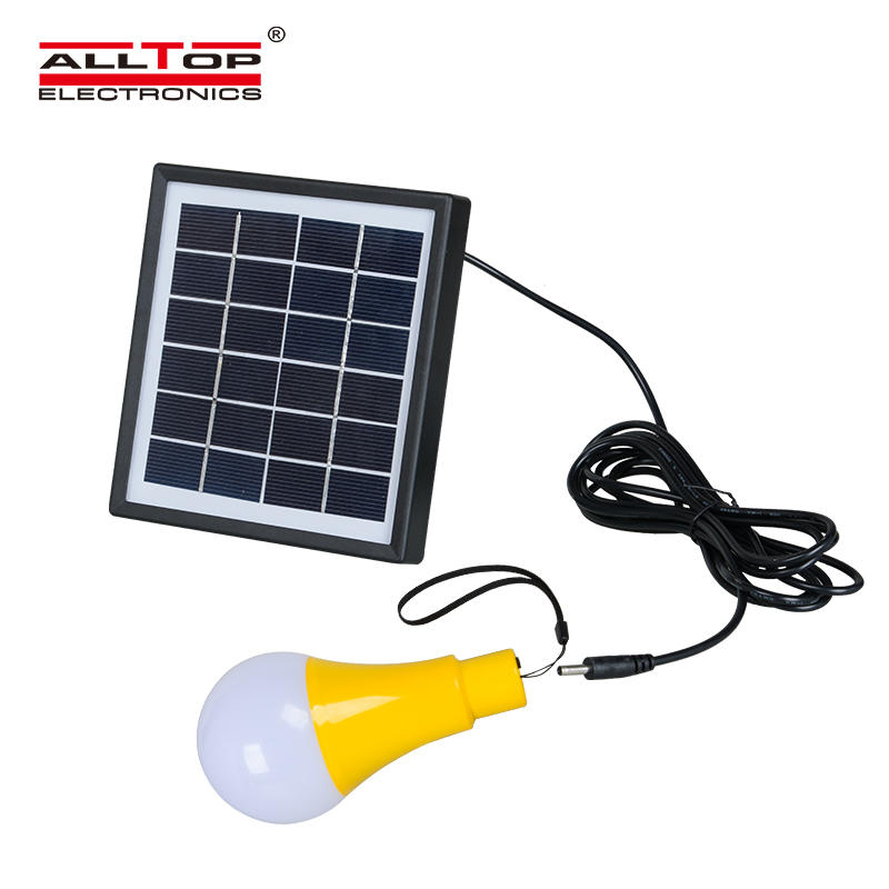 High quality outdoor camp portable Energy saving 5w solar led bulb light
