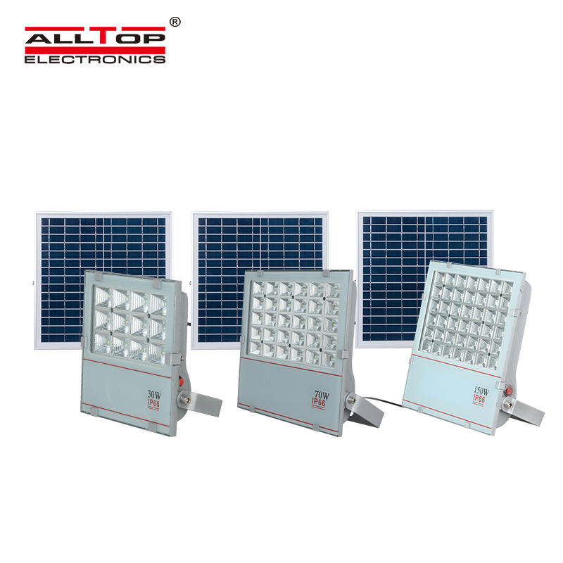 Good quality IP66 waterproof 30w 70w 150w Aluminum Alloy Solar led flood light