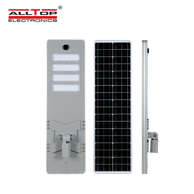 ALLTOP -ALLTOP 50W 100W 150W 200W IP65 outdoor integrated motion sensor all in one solar led street -1