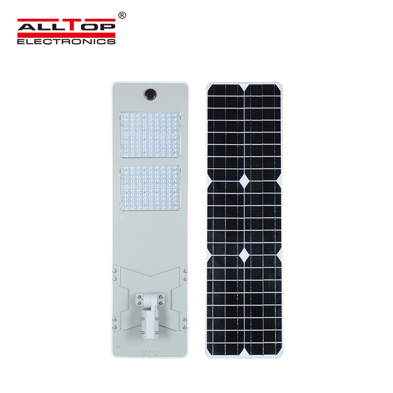 ALLTOP 50W 100W 150W 200W IP65 outdoor integrated motion sensor all in one solar led street light-4