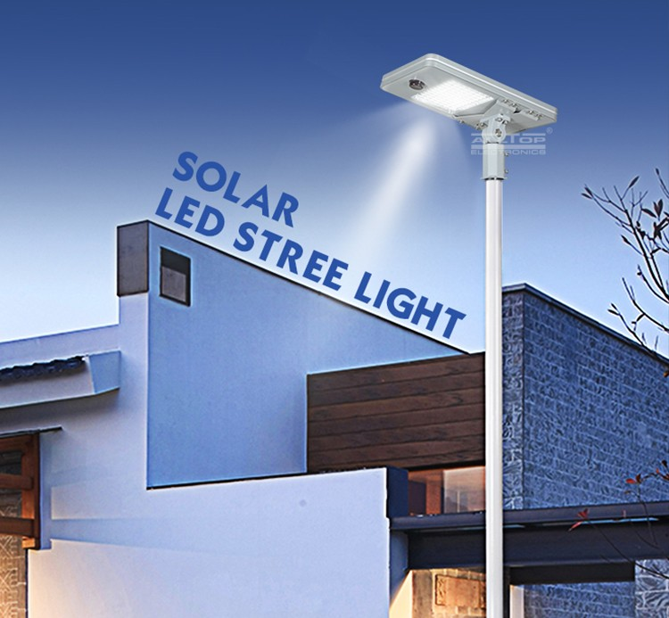 ALLTOP 50W 100W 150W 200W IP65 outdoor integrated motion sensor all in one solar led street light-13