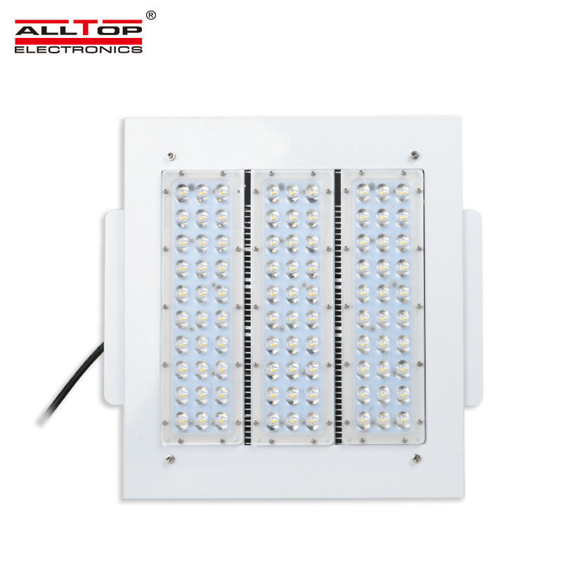 100W/ 120W/150W/ 200W Explosion proof light industrial gas station led canopy light