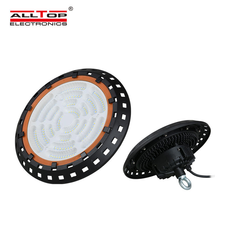 High power IP65 warehouse industrial indoor 100watt 150watt 200watt ufo led high bay light
