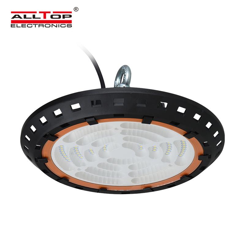 ALLTOP -High power IP65 warehouse industrial indoor 100watt 150watt 200watt ufo led high bay light-2