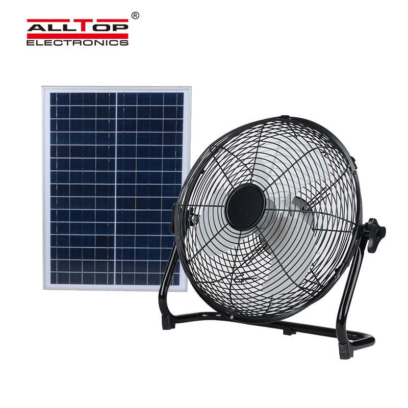 New wireless outdoor electric bracket solar fan