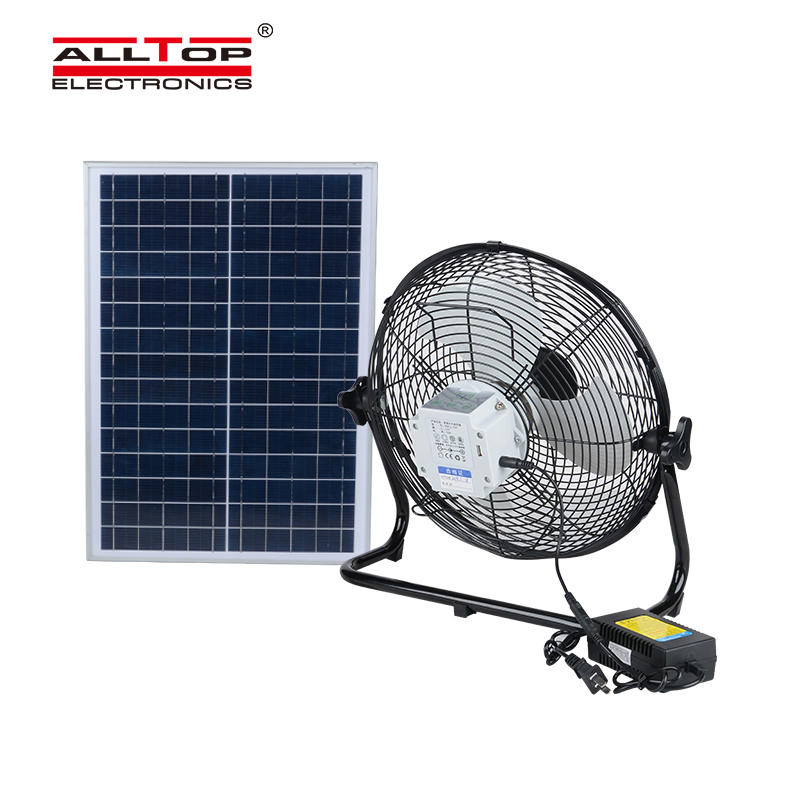 New wireless outdoor electric bracket solar fan