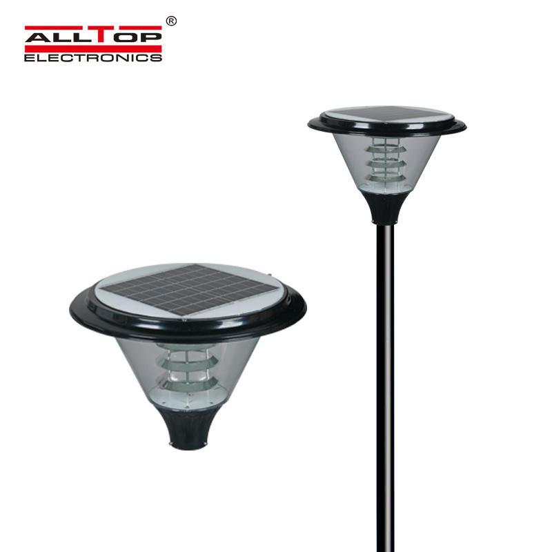 Outdoor lighting solar powered garden
