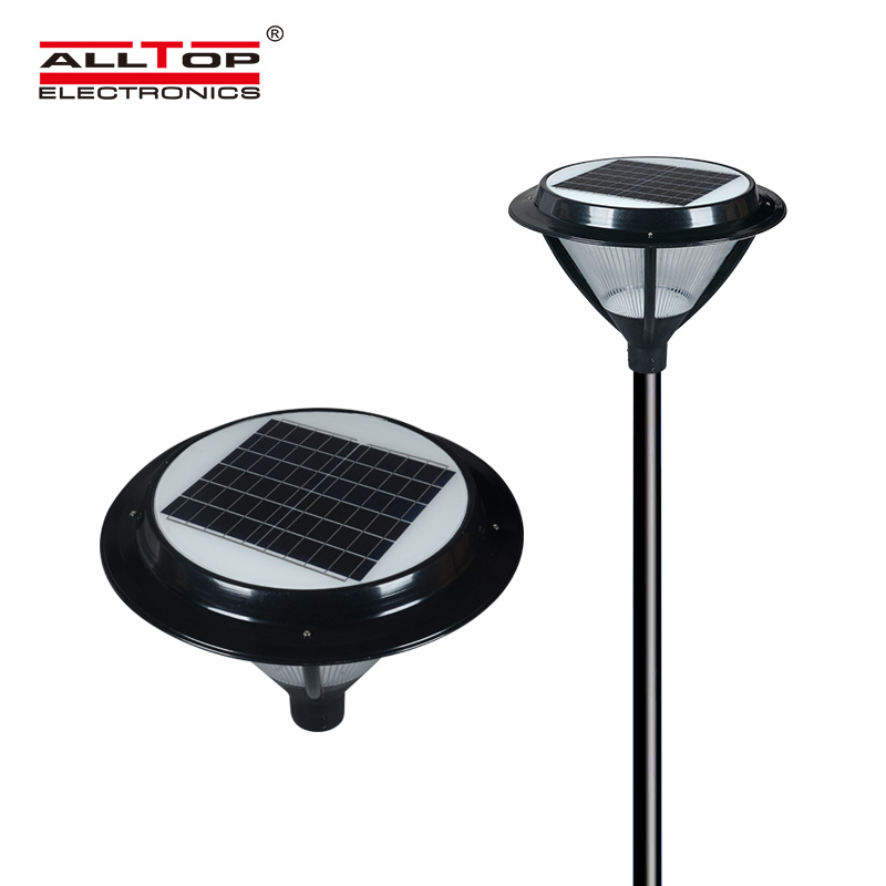 ALLTOP -Oem Solar Pillar Lights Manufacturer, Solar Powered Light Post-1