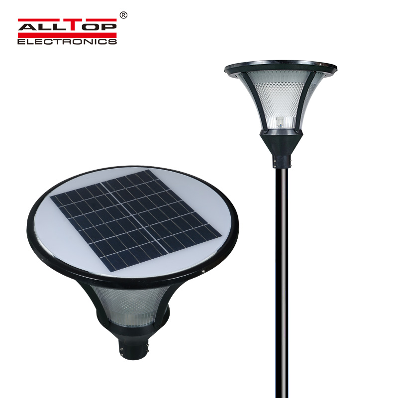 ALLTOP -Oem Solar Pillar Lights Manufacturer, Solar Powered Light Post-2