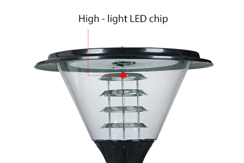 ALLTOP best solar lamp post lights suppliers for landscape-5
