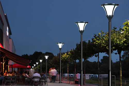 ALLTOP best solar lamp post lights suppliers for landscape-11