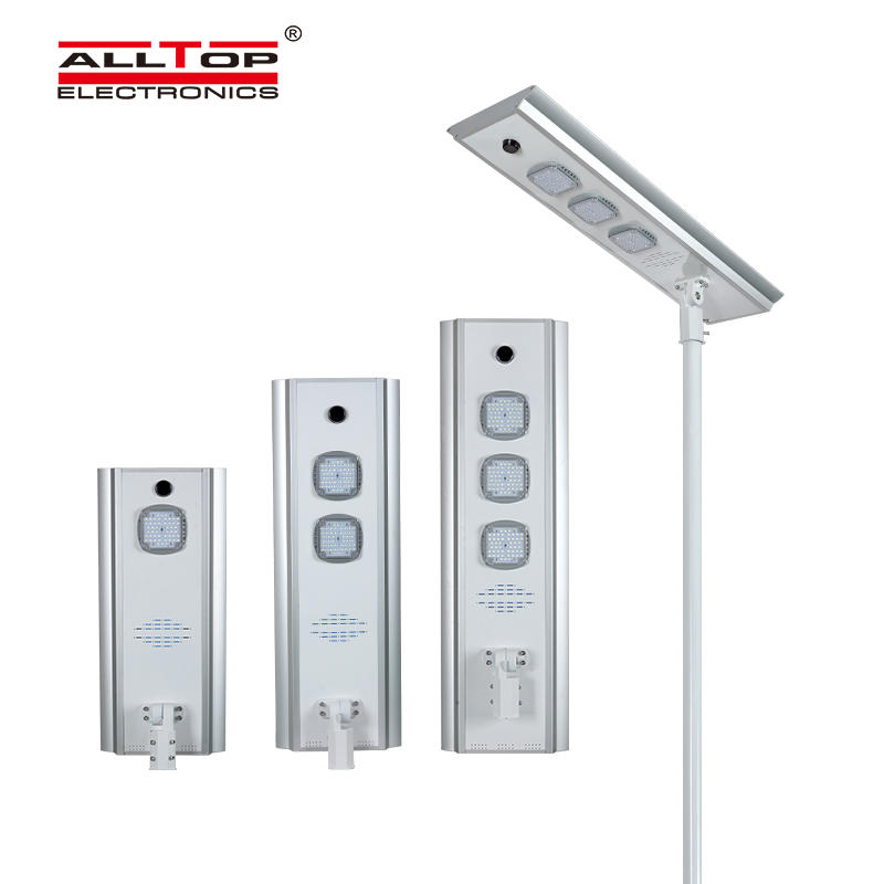 Motion sensor Infrared Energy saving Integrated Solar Led Street Light