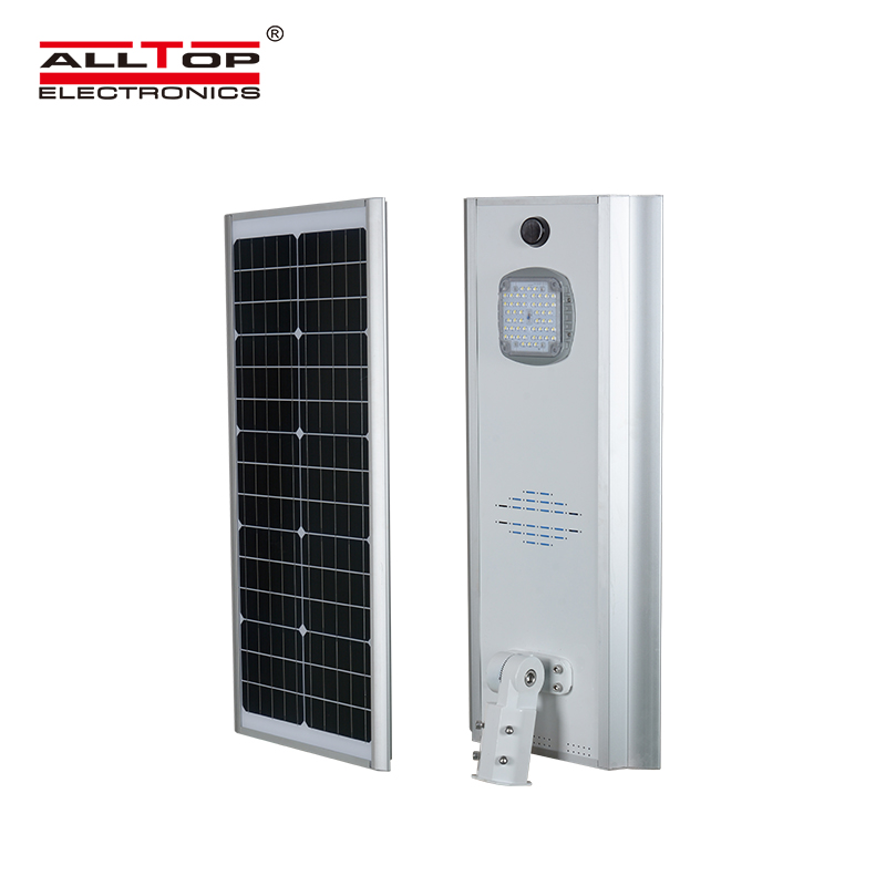 ALLTOP -Motion sensor Infrared Energy saving Integrated Solar Led Street Light-1