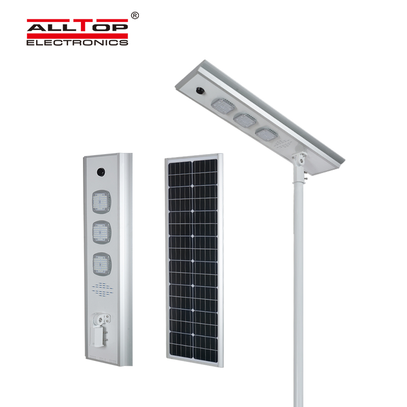 ALLTOP -Motion sensor Infrared Energy saving Integrated Solar Led Street Light