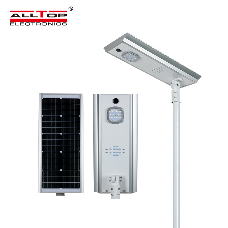 ALLTOP adjustable angle solar street light ip65 wholesale for garden-1