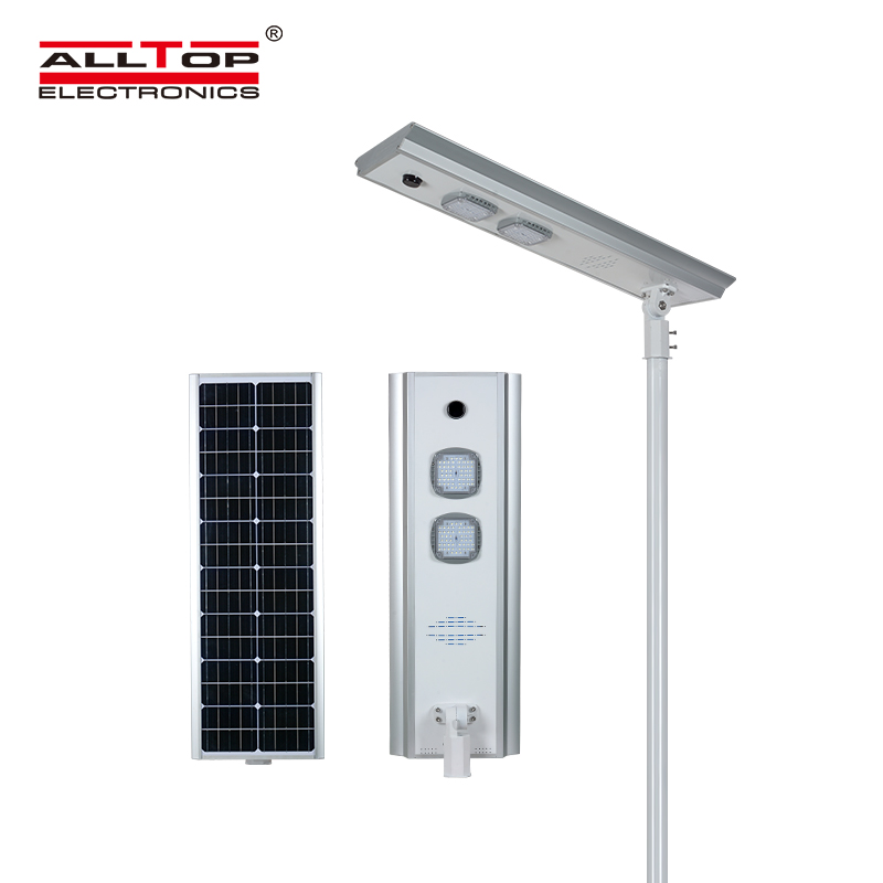 ALLTOP adjustable angle solar street light ip65 wholesale for garden-2