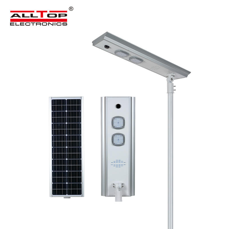 ALLTOP high quality all in one solar street light with good price for road