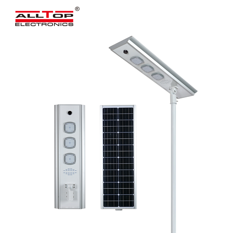ALLTOP adjustable angle solar street light ip65 wholesale for garden-3