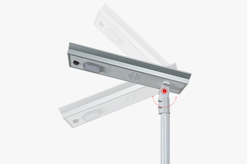 ALLTOP adjustable angle solar street light ip65 wholesale for garden-5